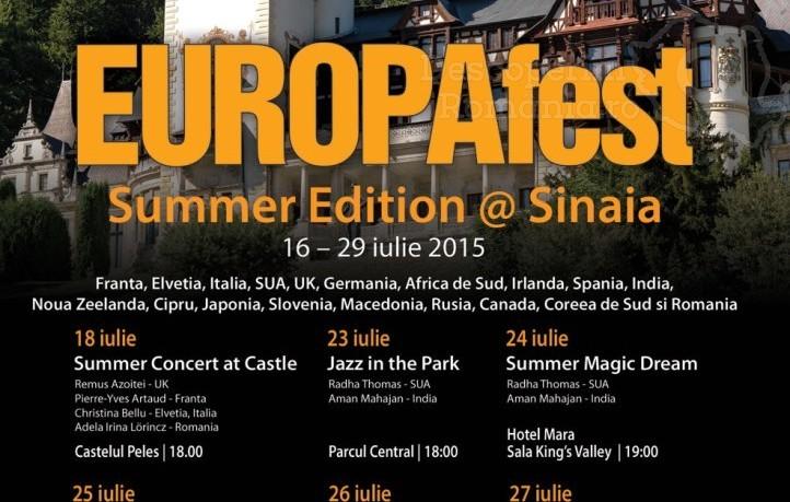 EUROPAfest Summer Edition 2015 la Castelul Peleş