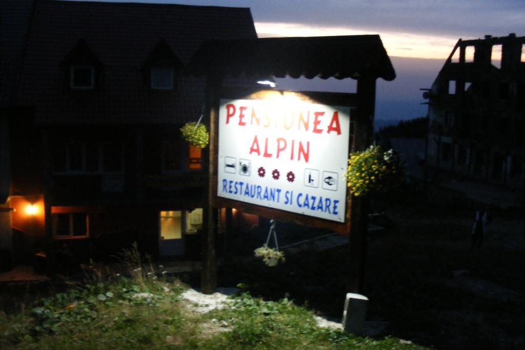 Pensiunea Alpin din Muntele Mic