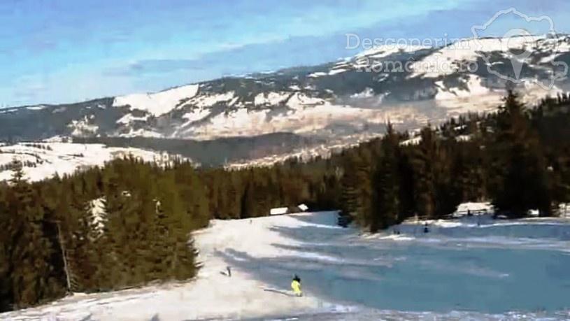 La schi in Bucovina