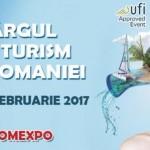 Ediţia de primăvară a Târgului de Turism al României - 16-19 februarie 2017