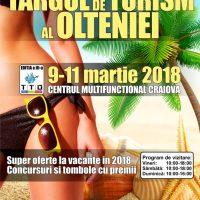 Târgul de Turism al Olteniei, ediția a III-a, 9-11 martie 2018, Craiova