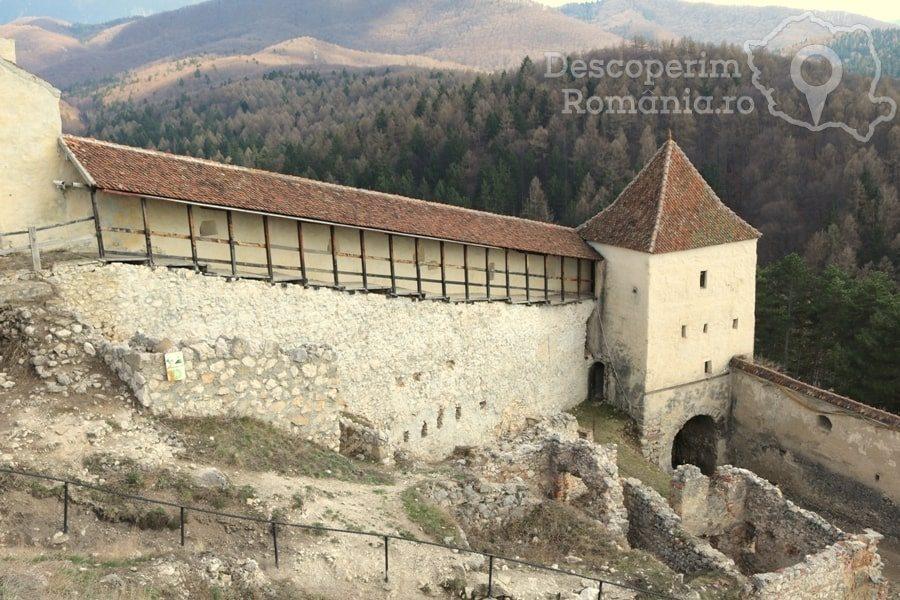 Cetatea Râșnov – Falnic supraveghtor al Râșnovului – DescoperimRomania (22)