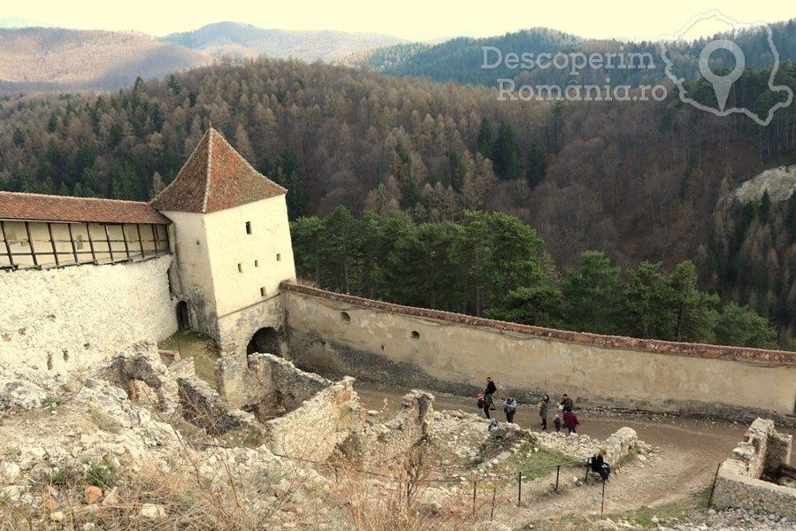 Cetatea Râșnov – Falnic supraveghtor al Râșnovului – DescoperimRomania (27)
